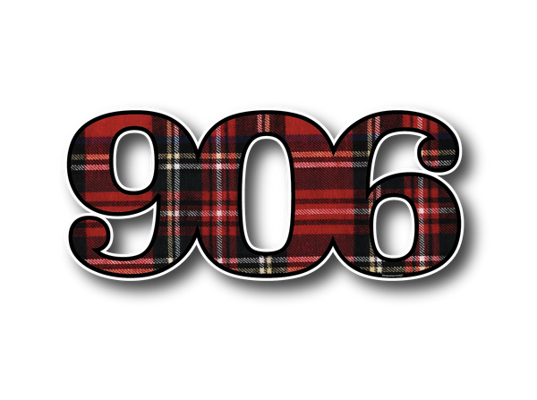 Flannel 906 Sticker