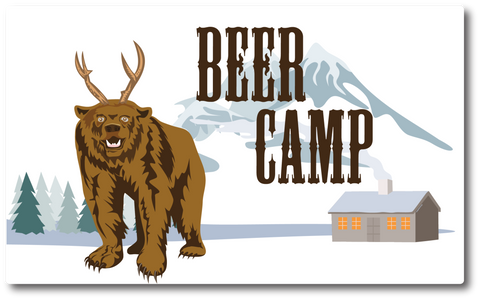 Beer Camp Sticker