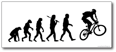 Evolution Mountain Bike Sticker