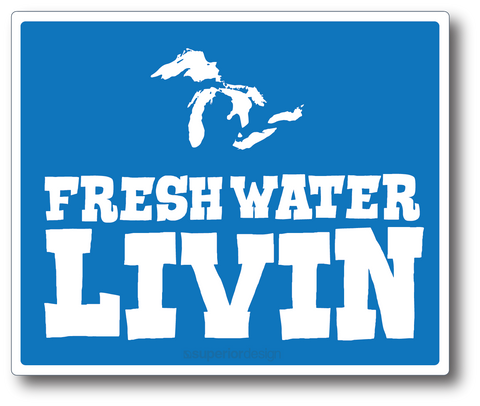 Freshwater Living Sticker
