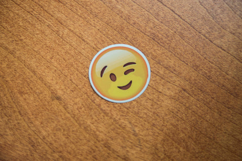 Wink Smile Emoji Sticker