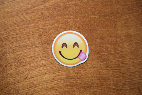 Smile Tongue Yum Emoji Sticker