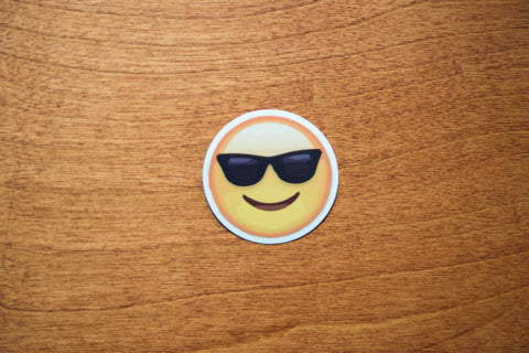 Cool Sunglasses Emoji Sticker