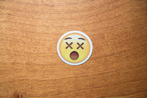 Dead Eyes Emoji Sticker