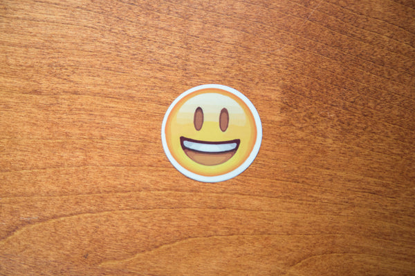 Happy Smile Emoji Sticker