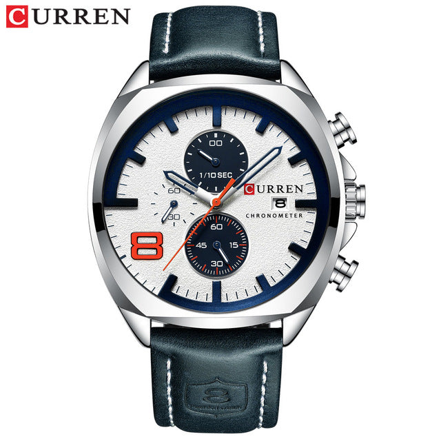 e31645f797 Top Brand Luxury Men Watches CURREN Military Analog Male Quartz Clock Men's  Sport Wristwatch Relogio Masculino