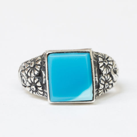 Turquoise Square Ring - MINU Jewels - 1
