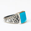 Turquoise Square Ring - MINU Jewels - 2