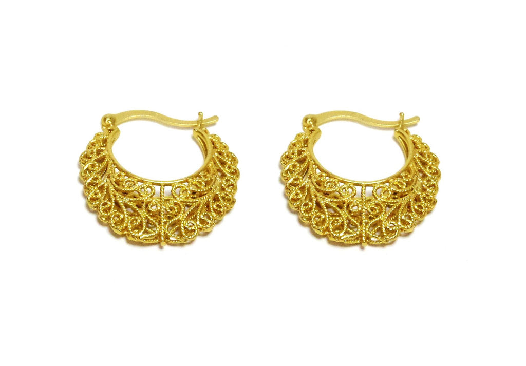 VOLUTE HOOPS - MINU Jewels