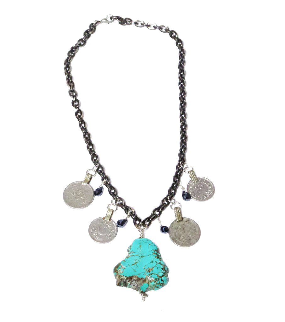 Turquoise Coins - Color Options - MINU Jewels - 2