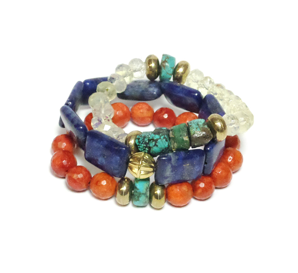LORI STONE Bracelets - Set of 3 - MINU Jewels - 1
