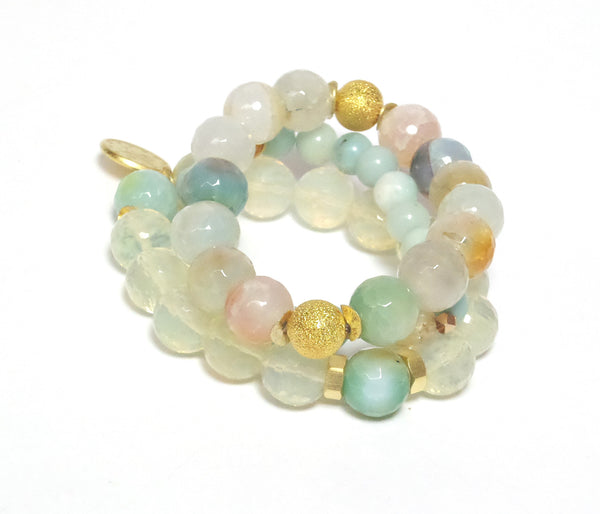 PASTELIE STONE Bracelets - Set of 3 - MINU Jewels - 1