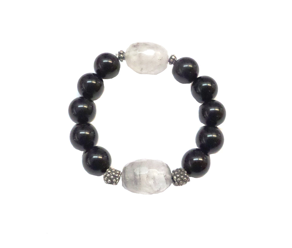 Onyx Gray Bracelet - MINU Jewels