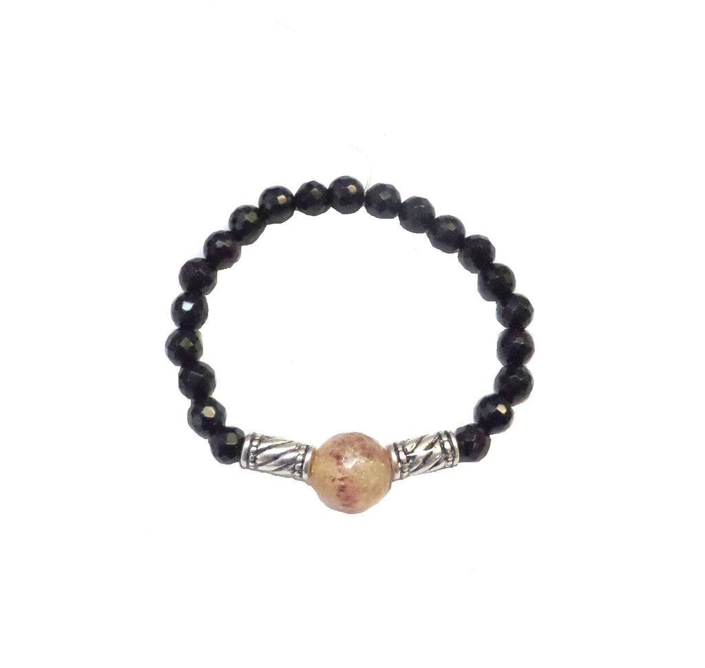 Citrine Black Bracelet - MINU Jewels