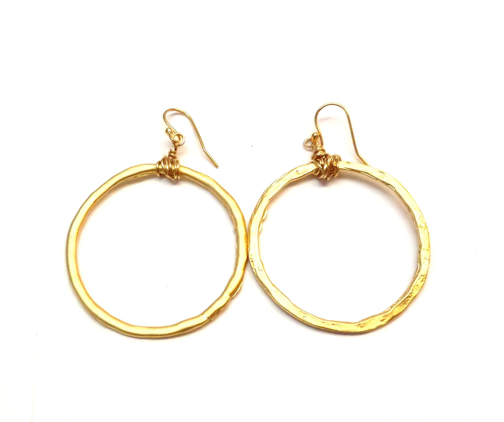 Gold Hoops - MINU Jewels