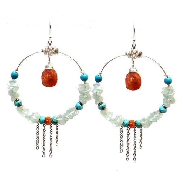 BLU Earrings - MINU Jewels