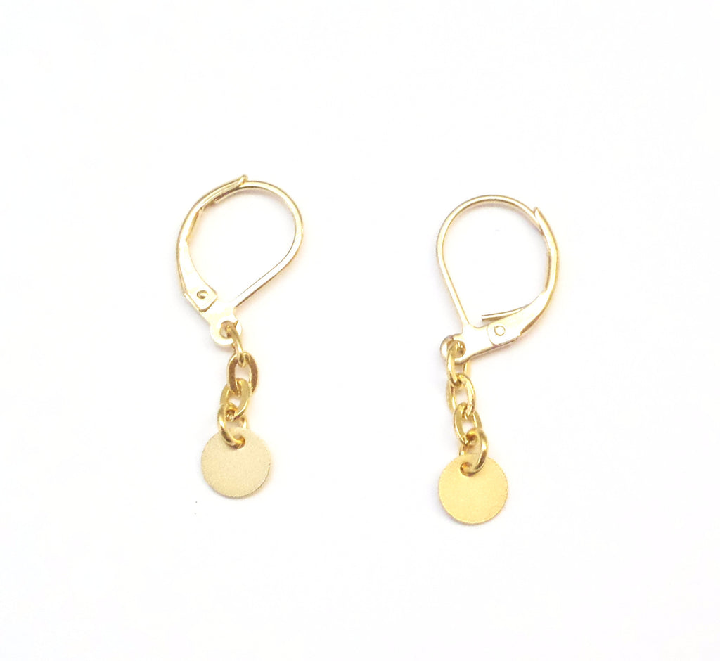 Lelli Gold Earrings - MINU Jewels