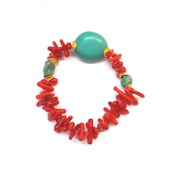 Coral Splash Bracelet - MINU Jewels