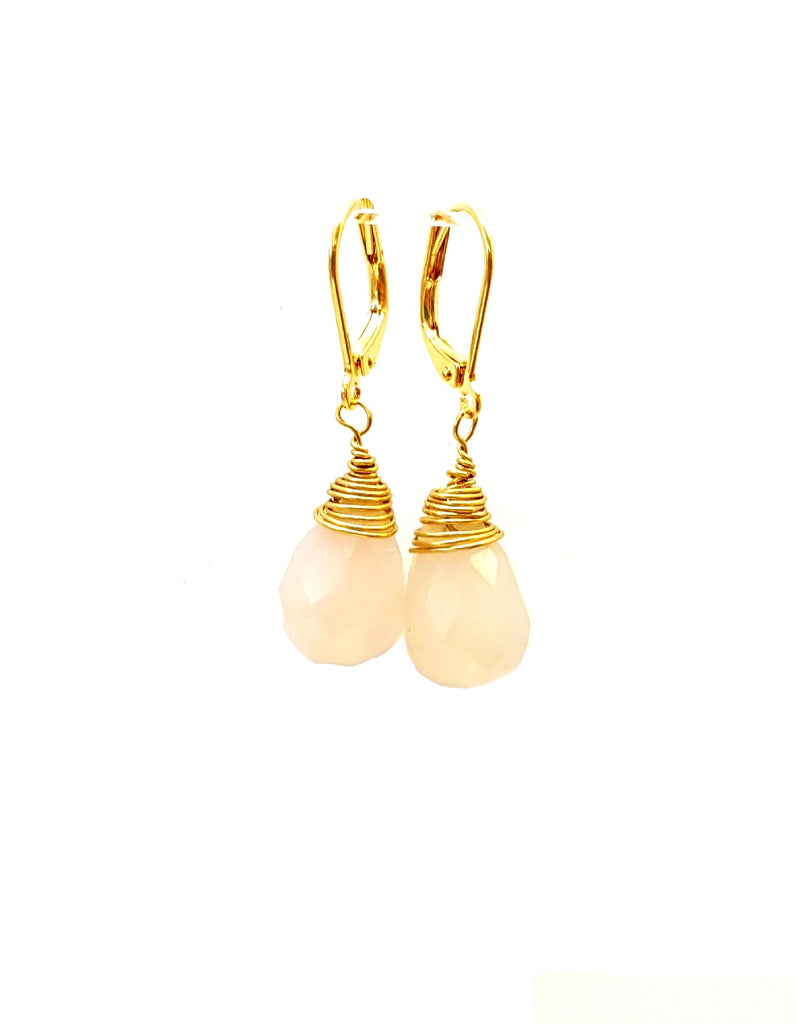 Chalcedony Drops - MINU Jewels