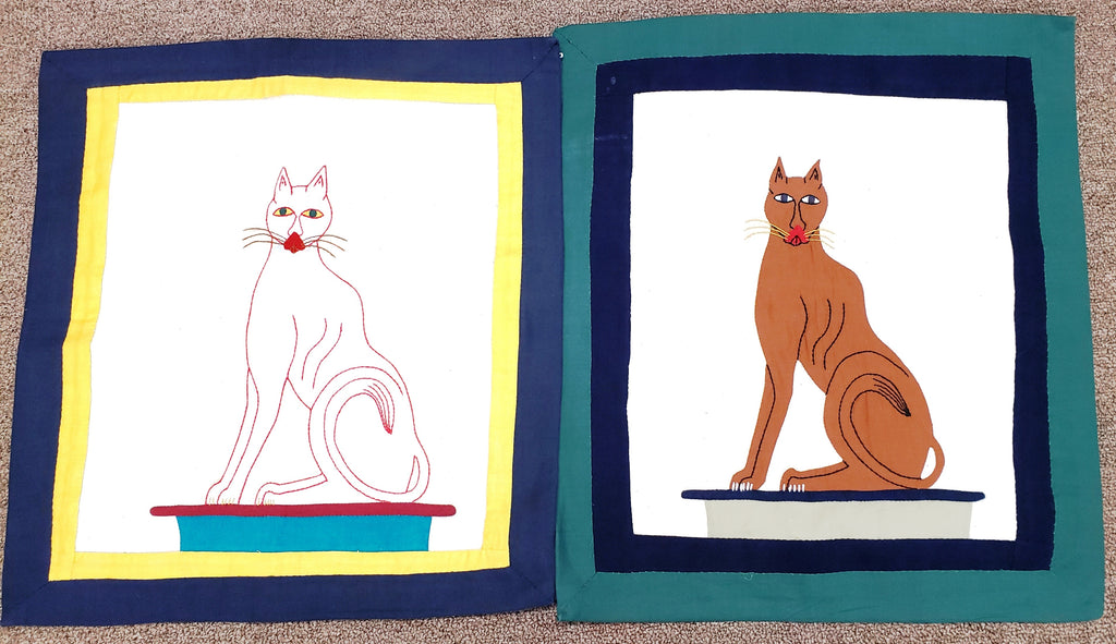 Egyptian Cat Pillow Cases - MINU Jewels
