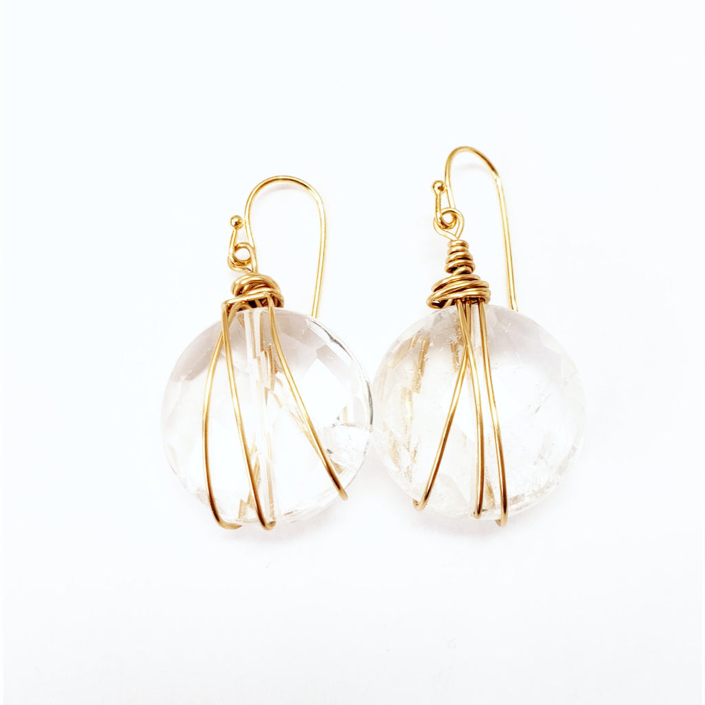 Crystal Earrings - MINU Jewels