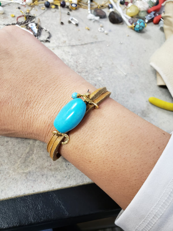 Hania Leather Bracelet