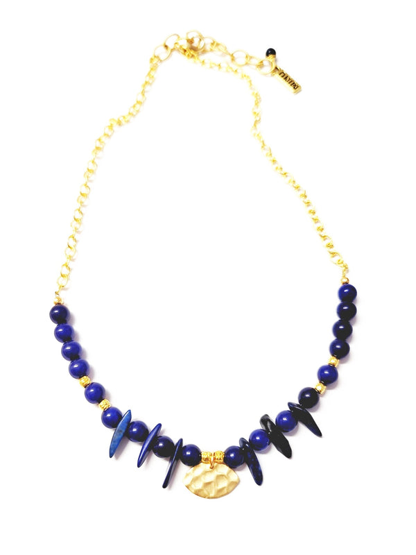 Blue Ain Necklace