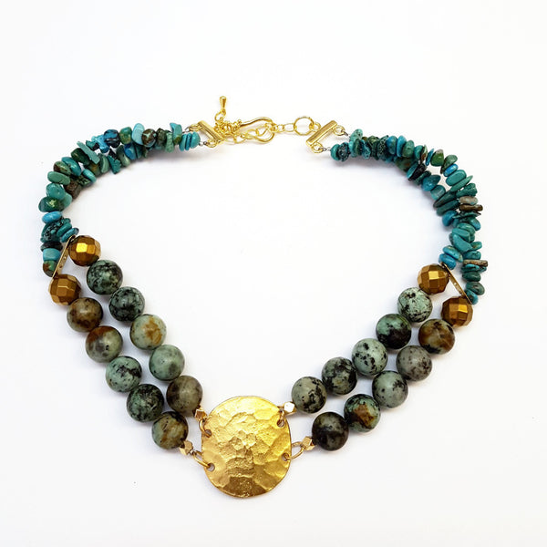 Egyptian Disc Choker - MINU Jewels