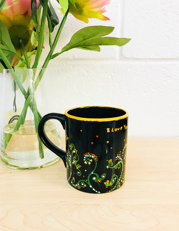 Flowers Love Mug by XenaArt