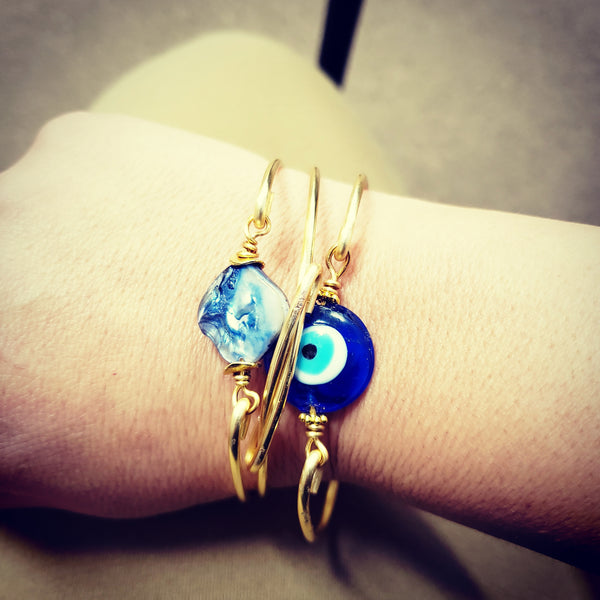 Blue Eye Bangle