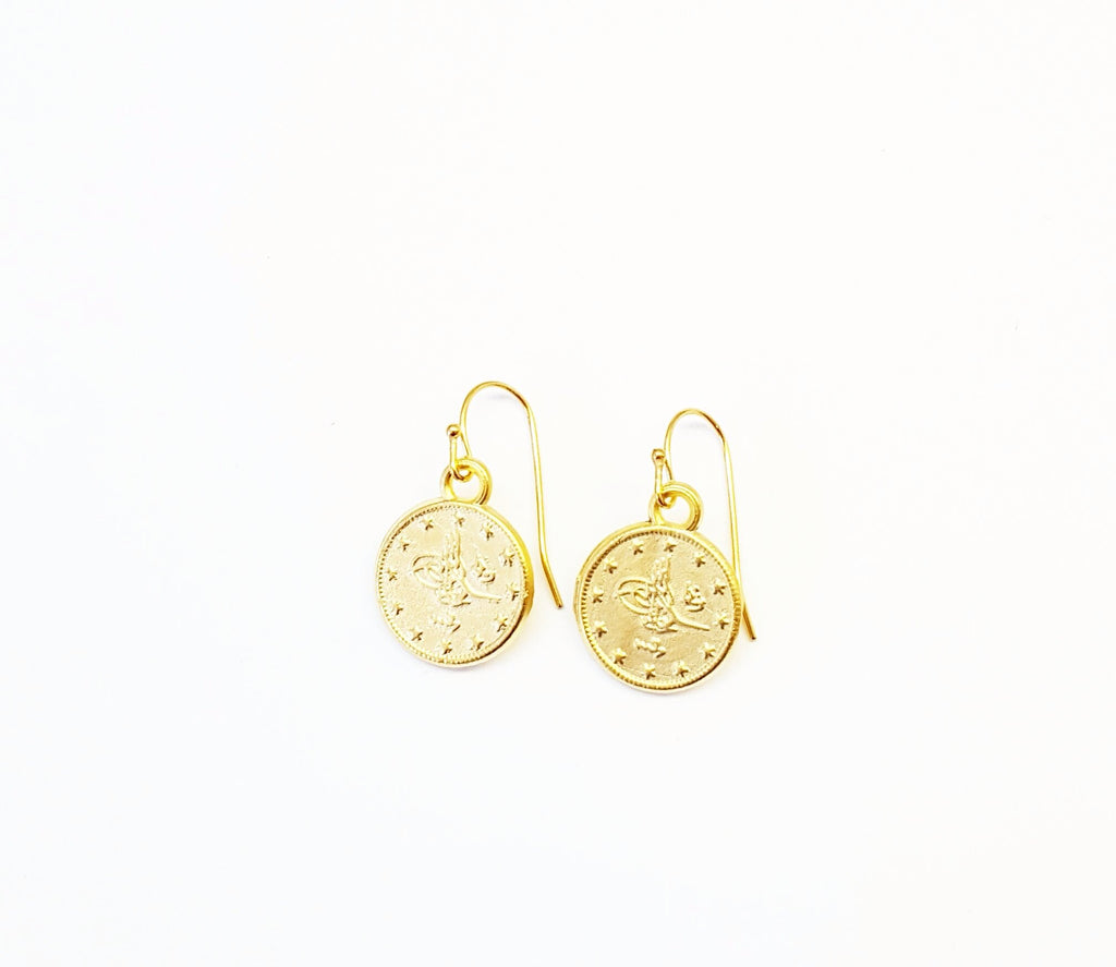 Ottoman Gold Earrings - MINU Jewels