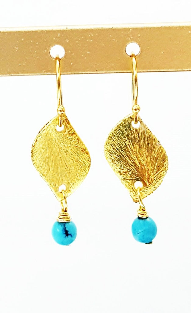 Sashet Brushed Earrings