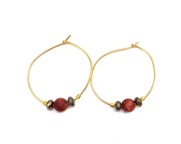 Andros Hoops - MINU Jewels