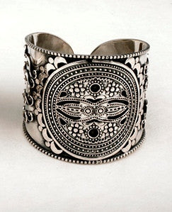 Bedouin Medallion Cuff - MINU Jewels - 1