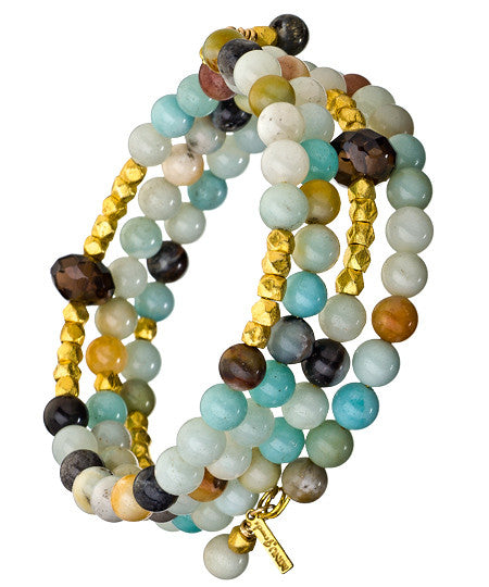 Peruvian Gemstone Wrap - MINU Jewels