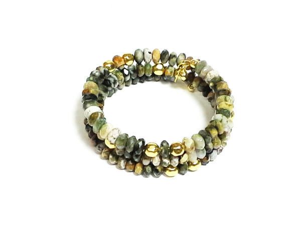 Jasper Gemstone Wrap - MINU Jewels