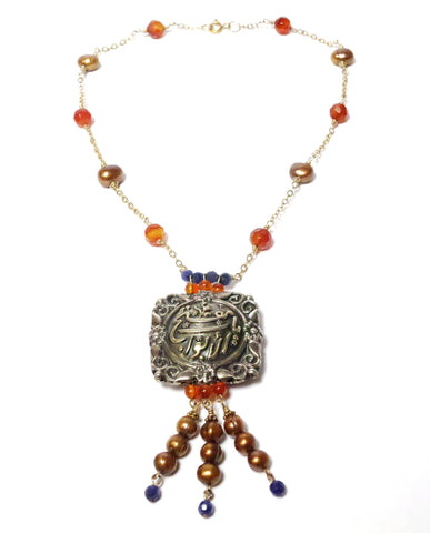 Arabic Muftah Necklace - MINU Jewels - 1