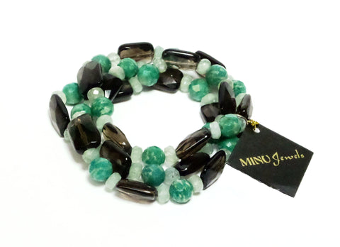 Amazon Green Bracelet - MINU Jewels - 1