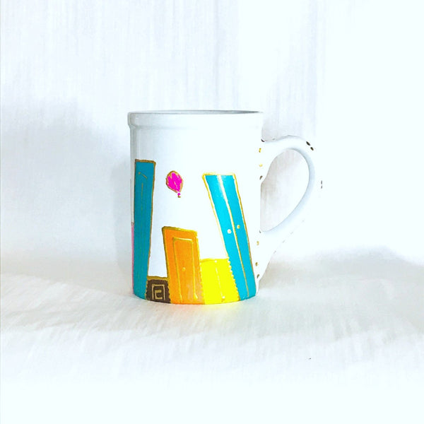 Colorful Doors Mug by XenaArt