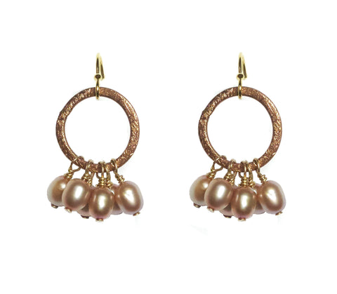 Frilly Pearls Earrings - MINU Jewels