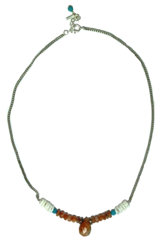Sunstone Love Necklace - MINU Jewels