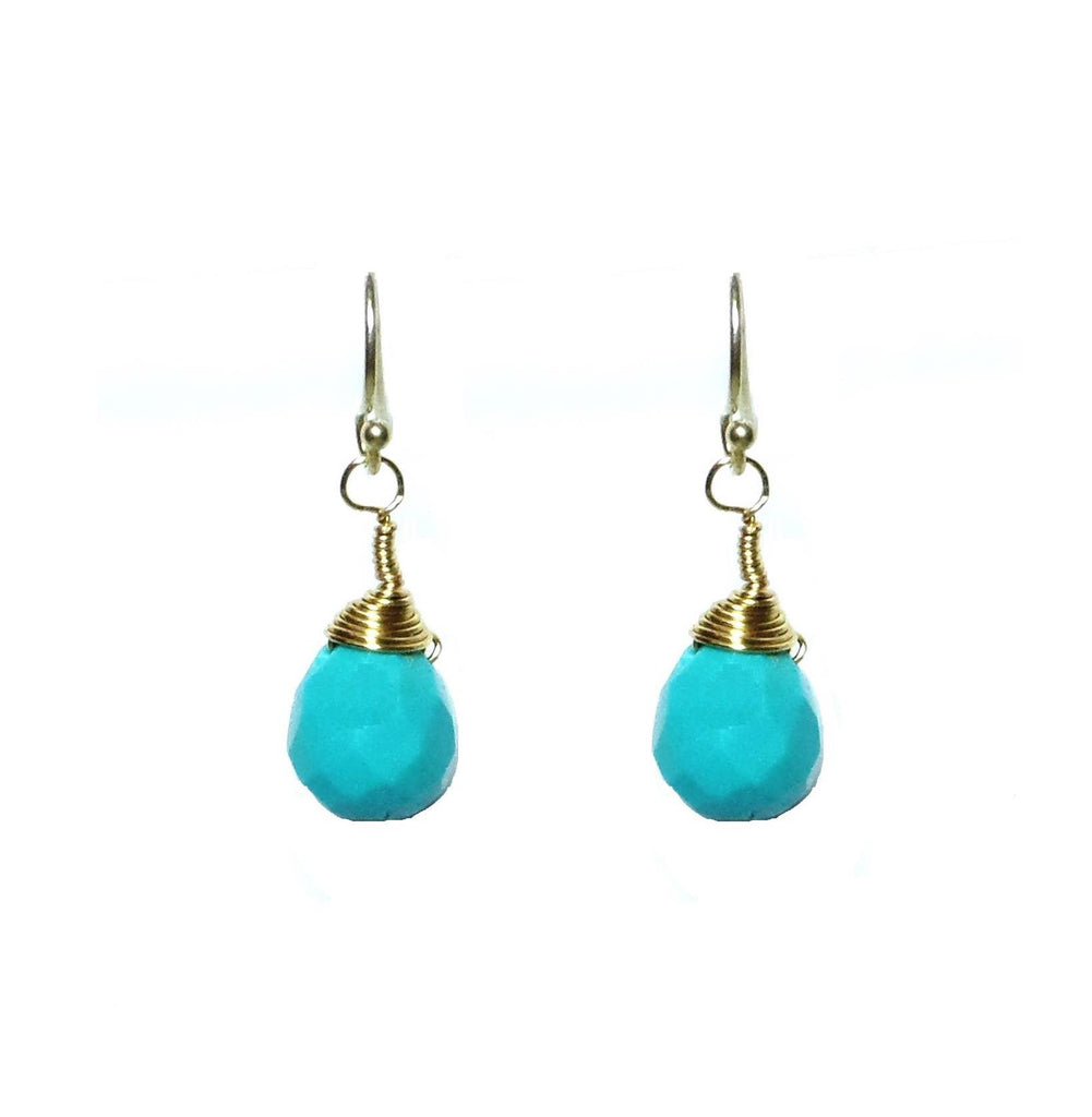Turquoise Drops Small - MINU Jewels - 1