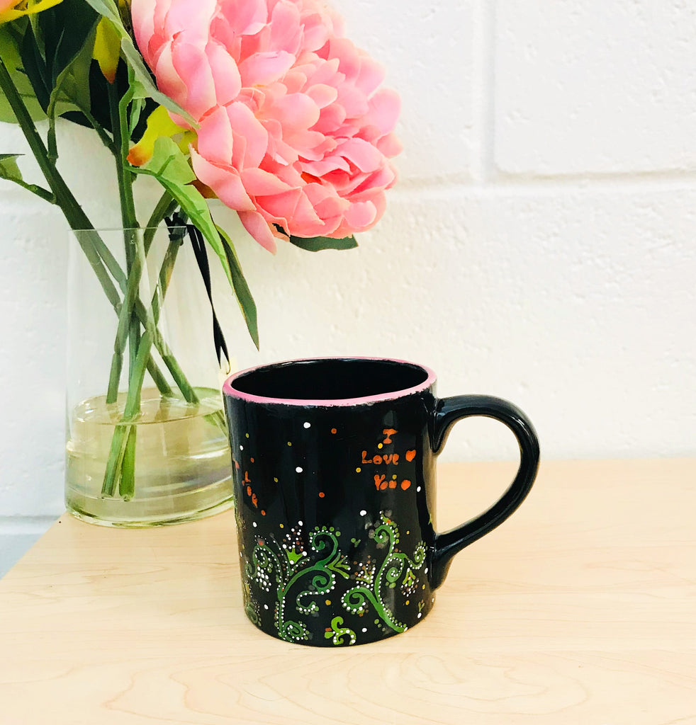 Flower Mug by XenaArt