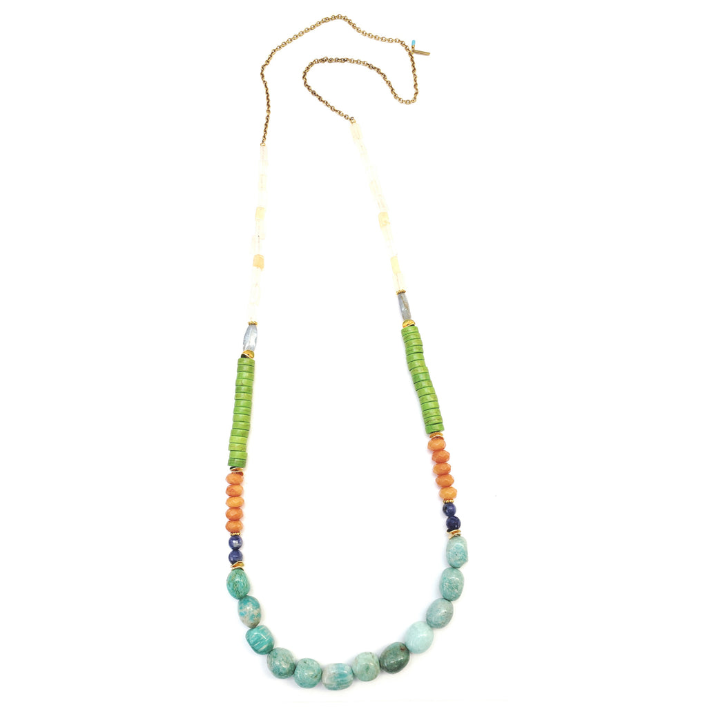 Verde Long Necklace