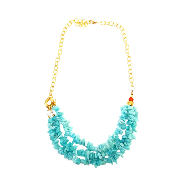 Azraq Necklace - MINU Jewels