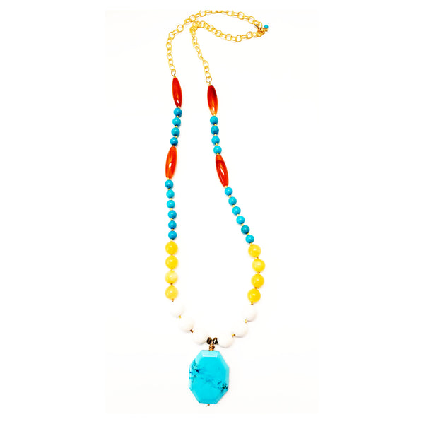 Agios Long Necklace - MINU Jewels