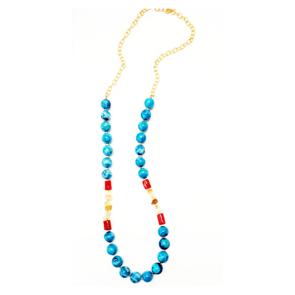 Elia Long Necklace - MINU Jewels