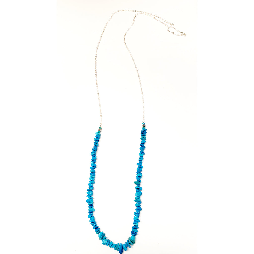 Blue Flirty Necklace
