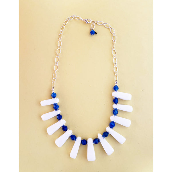 Blue Shams Necklace
