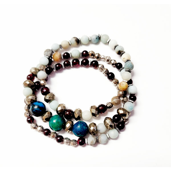 Alba Bracelets - Set of 3